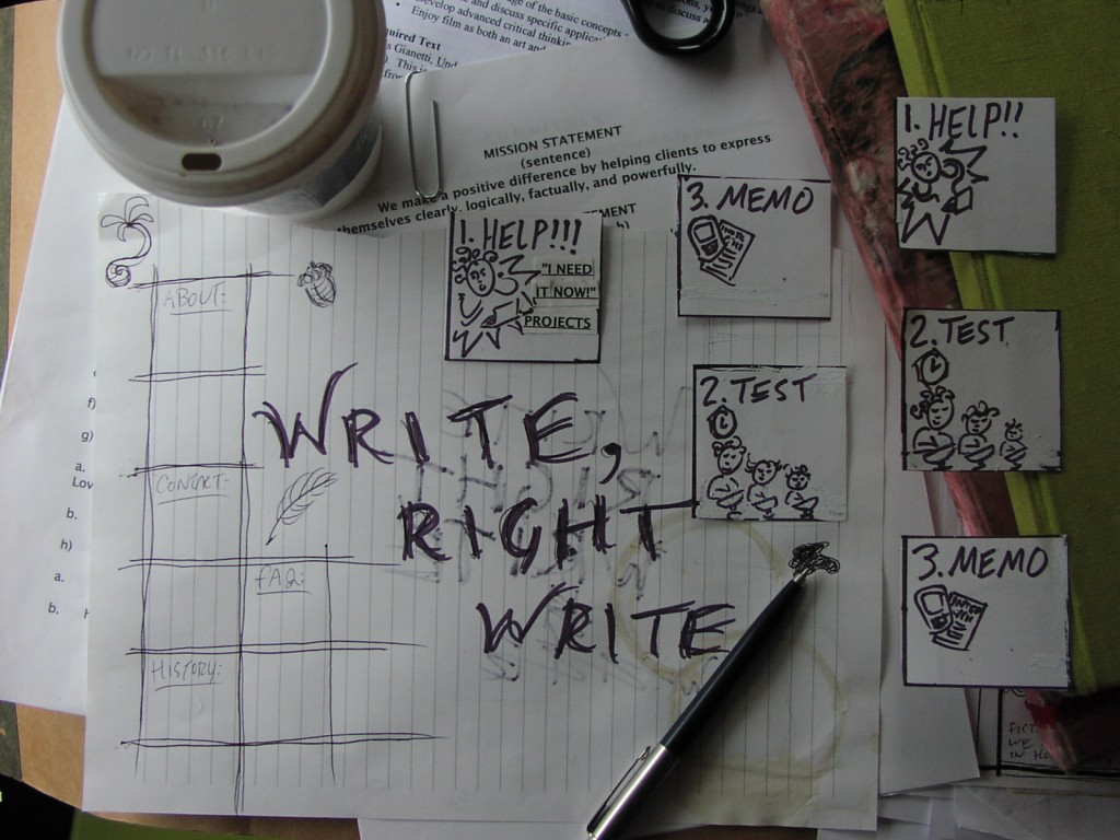 write right write text